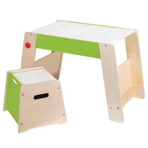tableau de bureau hape kit tabouret et plateau de jeu tableau bureau