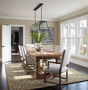 Modern classic transitional dining room new york for Modern classic dining room