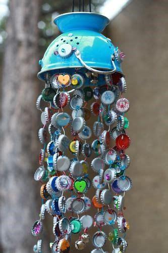 bottle cap wind chimes beer bottle cap crafts