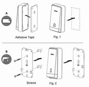 Kogan Battery Free Wireless Digital Doorbell