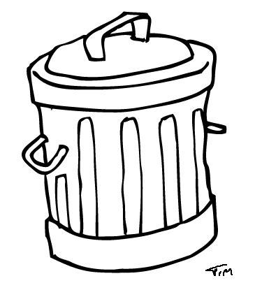 tong sampah