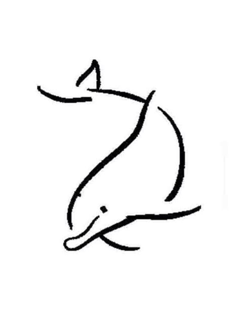 simple graphic | fy | Dolphins tattoo, Tattoo designs, Tattoo sketches