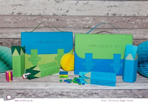 geschenke zur einschulung basteln geschenke sch 246 n verpacken schulranzen basteln