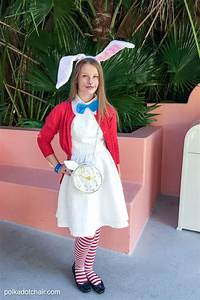 No Sew Alice in Wonderland Costume Ideas - The Polka Dot Chair