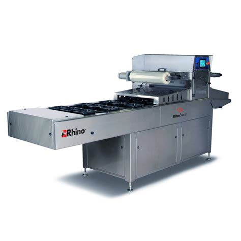 cuisine maghr饕ine rhino 10 automatic tray sealing machine with map modified atmosphere packaging capabilities ultrasource food equipment and industrial supplies