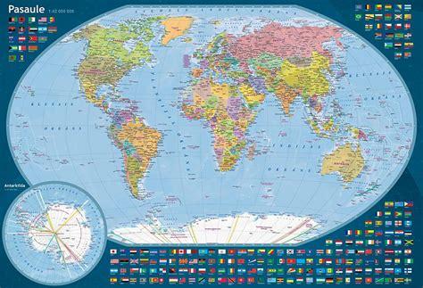 Pasaules ģeogrāfijas tests. Fizioģeogrāfiskā karte. - Spoki