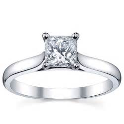1ct engagement ring platinum 1ct tdw white solitaire engagement ring h i si1 si