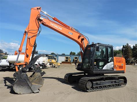 hitachi zx  excavator  sale  hours penticton bc