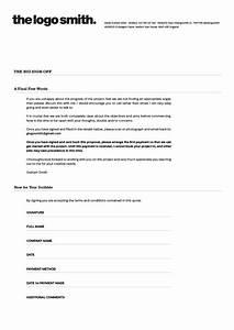 Freelance logo design proposal and invoice template for for Invoice proposal template