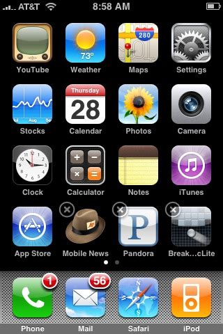 how to delete uninstall iphone apps applications alvinalexander