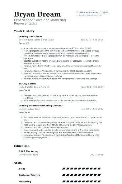 Leasing Consultant Resume Sle by Leasing Consultant Resume Exle Leasing Manager Resume