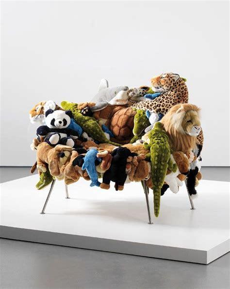 The Campana Brothers Stuffed Animal  Ee  Chairs Ee   Great Idea