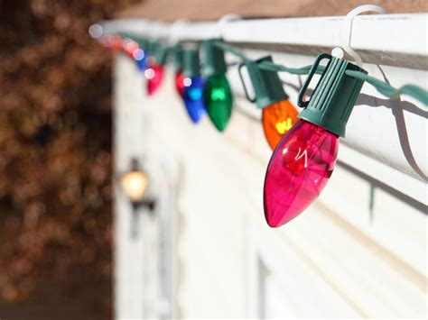 how to hang lights diy