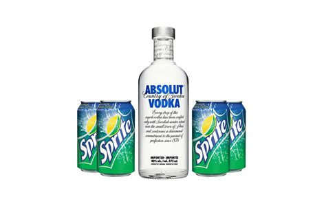Absolut Vodka And Sprite Package