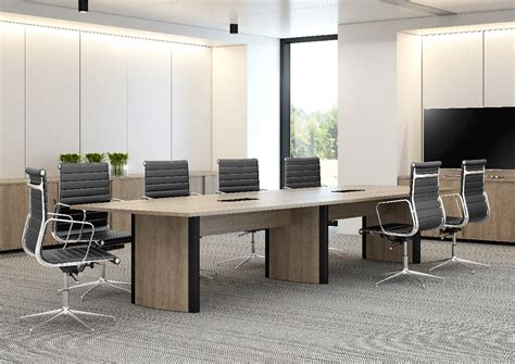 the city desk company aerofoil boardroom table city office furniture