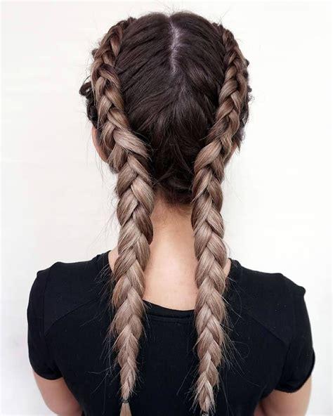 french braids  mermaid   side fishtail