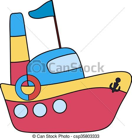 Barco Dibujo Infantil by Vectores De Barco Dibujo Infantil Steamboat Pasajero