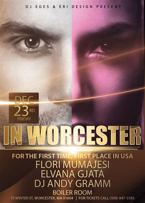Flori Mumajesi, Elvana Gjata & Dj Andy Gramm In Worcester