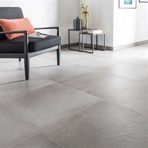 carrelage cuisine gris carrelage sol et mur gris ciment effet béton l 60 x l