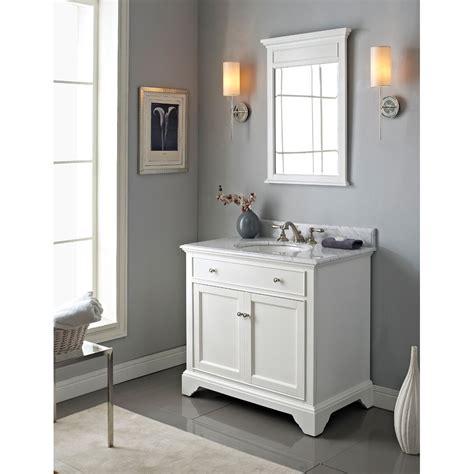 fairmont designs framingham  vanity polar white