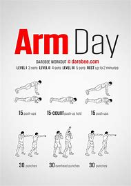 Arm Day Workout Routine