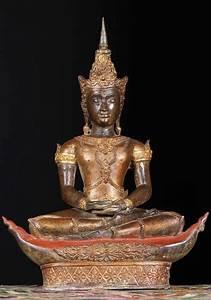 "SOLD Royal Thai Buddha Statue on Boat 22"" (#68t26a): Hindu ..."