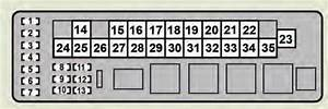 Lexus Gs350  2008 - 2009  - Fuse Box Diagram