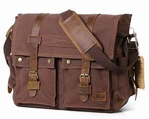 Laptoptasche 17 Zoll Leder : lifewit 17 zoll laptoptasche vintage messenger bag ~ Kayakingforconservation.com Haus und Dekorationen