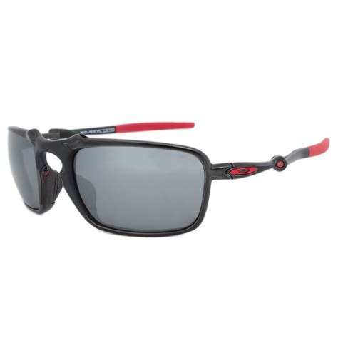 Oakley men's oo6020 badman rectangular metal sunglasses. Ray-Ban Oakley Badman Polarized Ferrari Edition Sunglasses OO6020-07 | Oakley eyewear ...