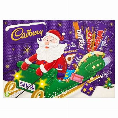 Cadbury Selection Chocolate Santa Iceland 169g Boxes