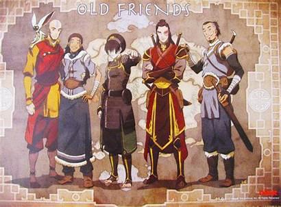 Korra Avatar Aang Katara Last Airbender Legend