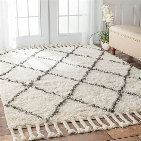 moroccan shag rug beautiful moroccan beni ourain style rugs 300