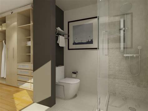 Walk In Closet And Bathroom Ideas