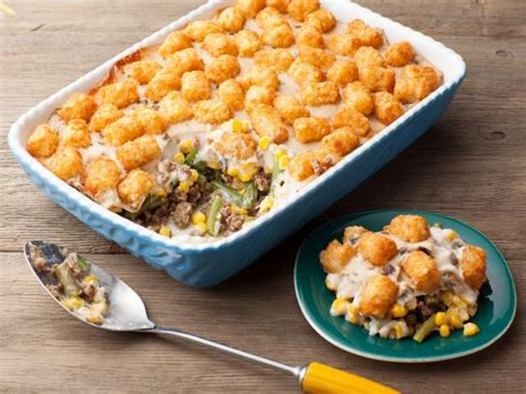 hotdish tater tot casserole recipe cooking channel