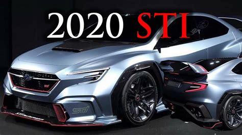 Subaru Wrx Sti 2020 Japan by Subaru Sti 2020 Concept Viziv Tokyo Auto Salon 2018