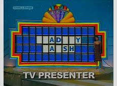 Wheel Of Fortune – Bradley Walsh