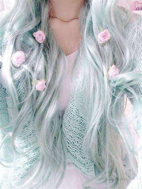 Mint Green Hair On Tumblr