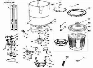 Tube Assy Diagram  U0026 Parts List For Model Hlt364xxq Haier