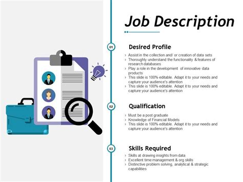 job description  file maker powerpoint