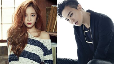 goo hara denies dating rumors   dragon  group