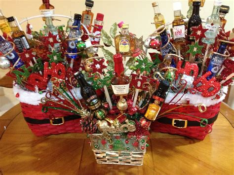 christmas liquor best 25 liquor gift baskets ideas on mini bouquet burger