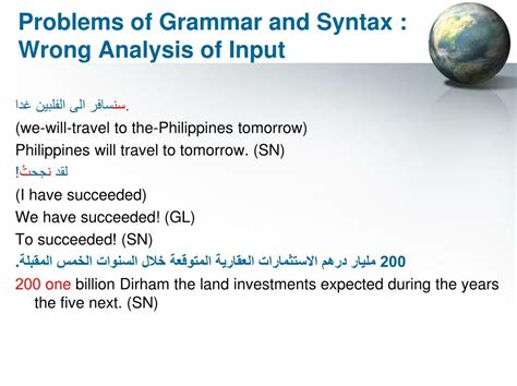 Ppt  Problems Of Translation From Arabic Into English Powerpoint Presentation Id228941