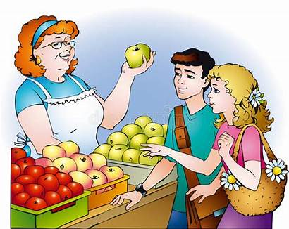 Buying Apples Clip Vector Someone Drawing Illustration
