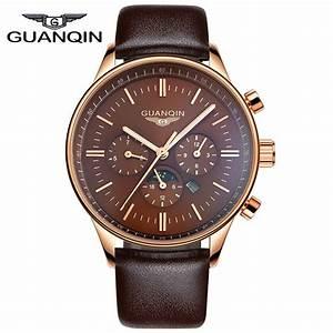 Aliexpress.com : Buy 2015 new GUANQIN mens watch large ...