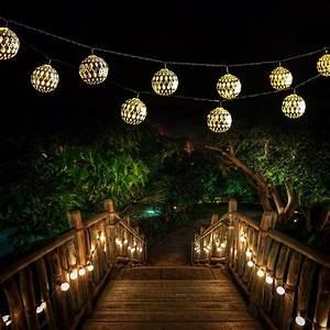 die top 10 solar lichterketten jetzt hier vergleichen With französischer balkon mit lichterkette lampions garten