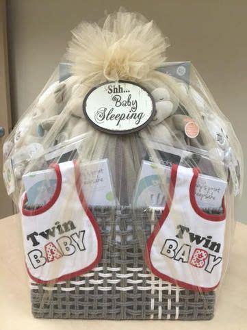 baby shower gift baskets twin gift baskets twin boys