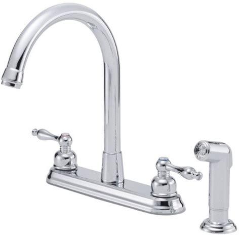 reach kitchen faucet danze d422055 lever cast spout kitchen faucet with