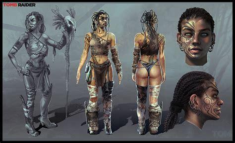 Tomb Raider Concept Art By Arman Akopian Concept Art World