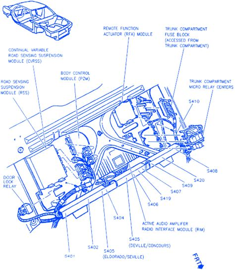 1996 Cadillac Concour Engine Diagram by Cadillac Sls 1996 Back Side Electrical Circuit Wiring