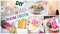 homemade room decorations DIY Tumblr Room Decor! Cute & Affordable! - YouTube